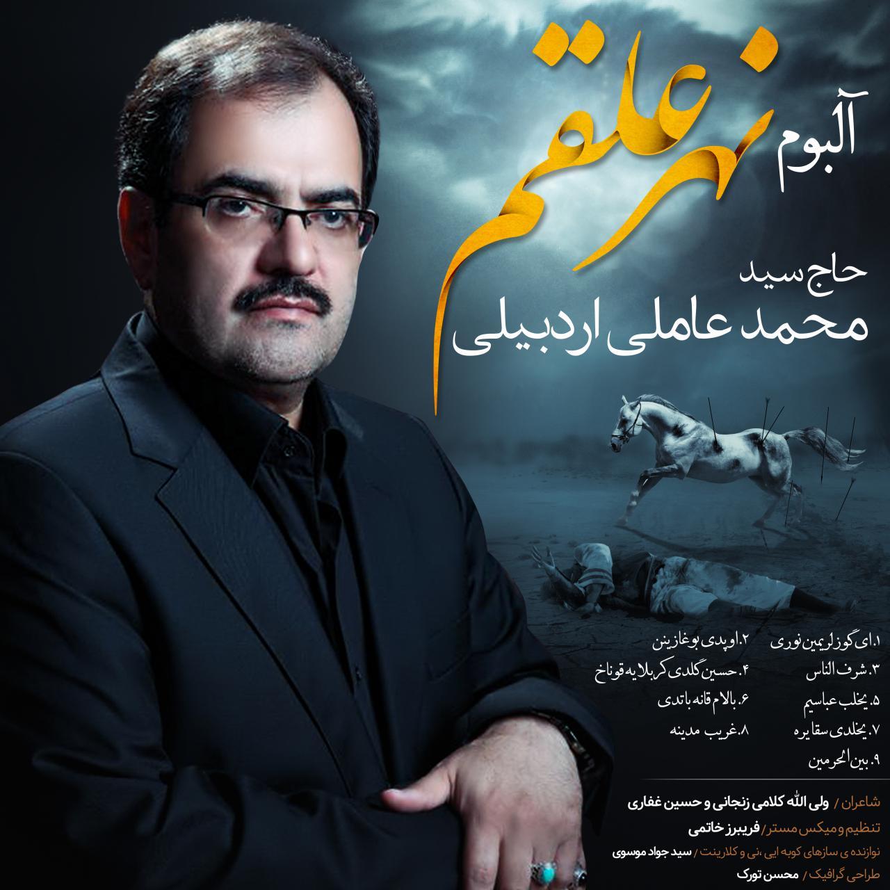 تصویر از آلبوم نوحه ترکی سید محمد عاملی به نام نهر علقم