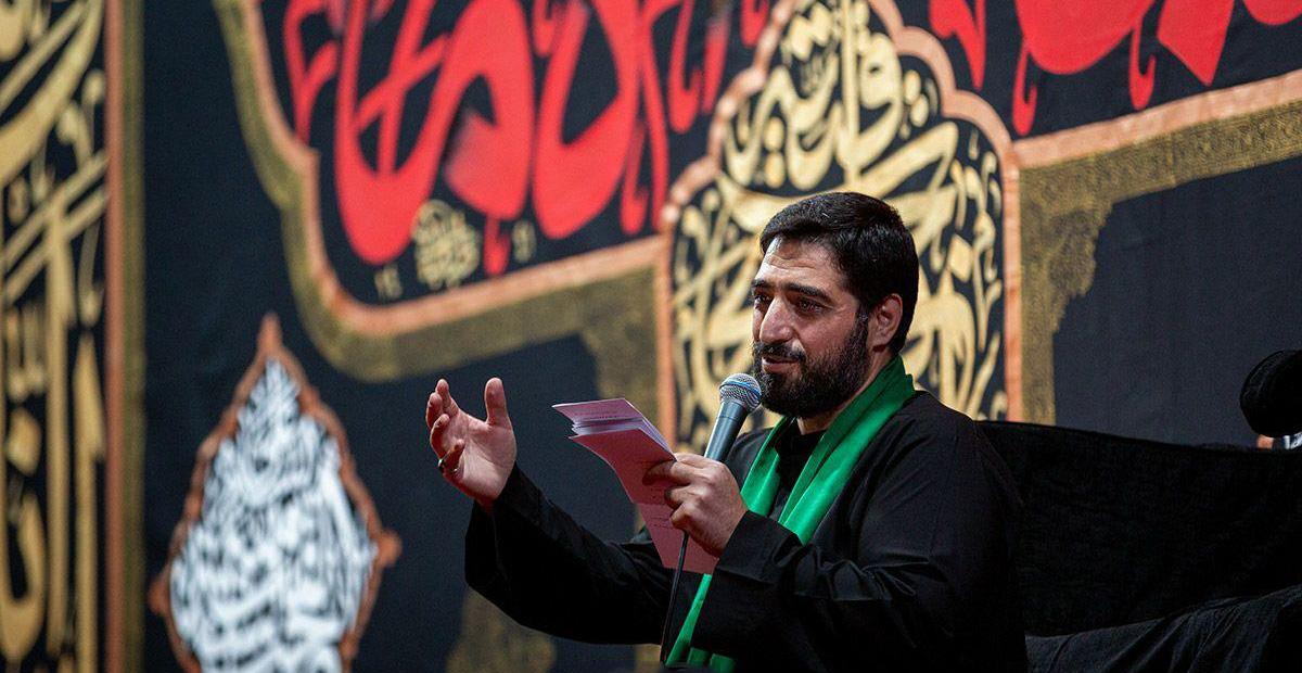 تصویر از مداحی حاج سید مجید بنی فاطمه دهه اول محرم ۹۹